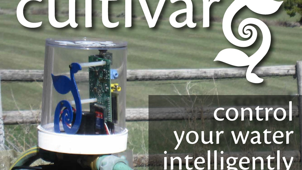 Cultivar's RainCloud: Control your water. Intelligently. project video thumbnail