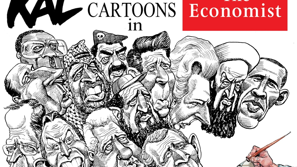 Retrospective collection of Kal cartoons from The Economist project video thumbnail