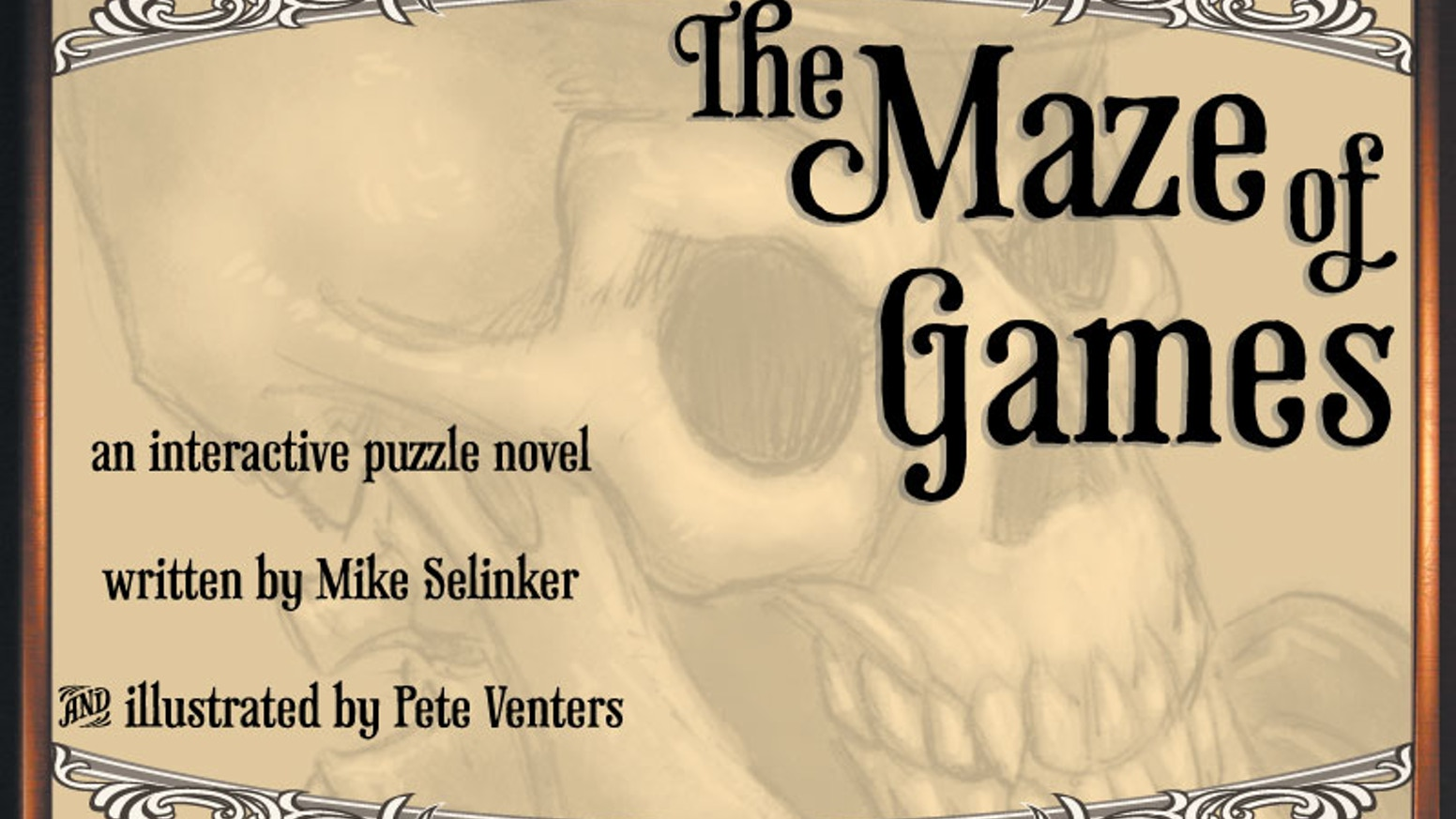 An interactive puzzle novel written by Mike Selinker, with enchanting illustrations by Pete Venters.