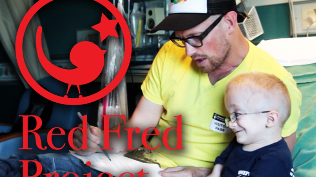 The Red Fred Project: 50 Books by 50 Critically-ill Children project video thumbnail