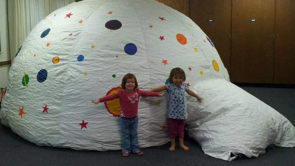 Portable Planetarium = Astronomy for All! project video thumbnail