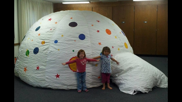 Pop A Lock Tucson >> Portable Planetarium = Astronomy for All! by Lauren Ard ...