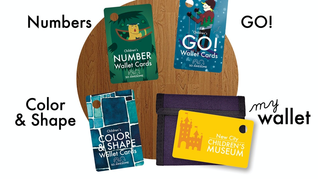 Children's Wallet Cards: Color & Shape, Numbers, GO, Wallet project video thumbnail