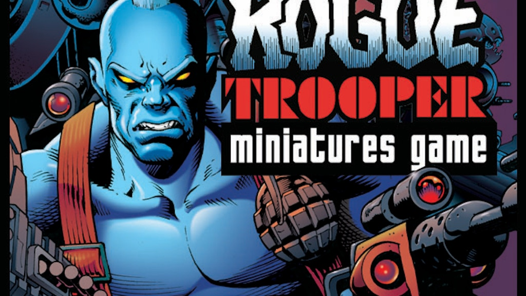 2000AD: Rogue Trooper Miniatures Game project video thumbnail