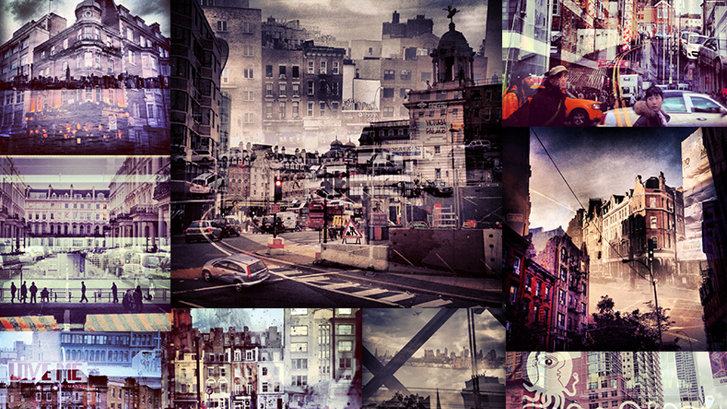 New York + London: A Collection of Double Exposures project video thumbnail