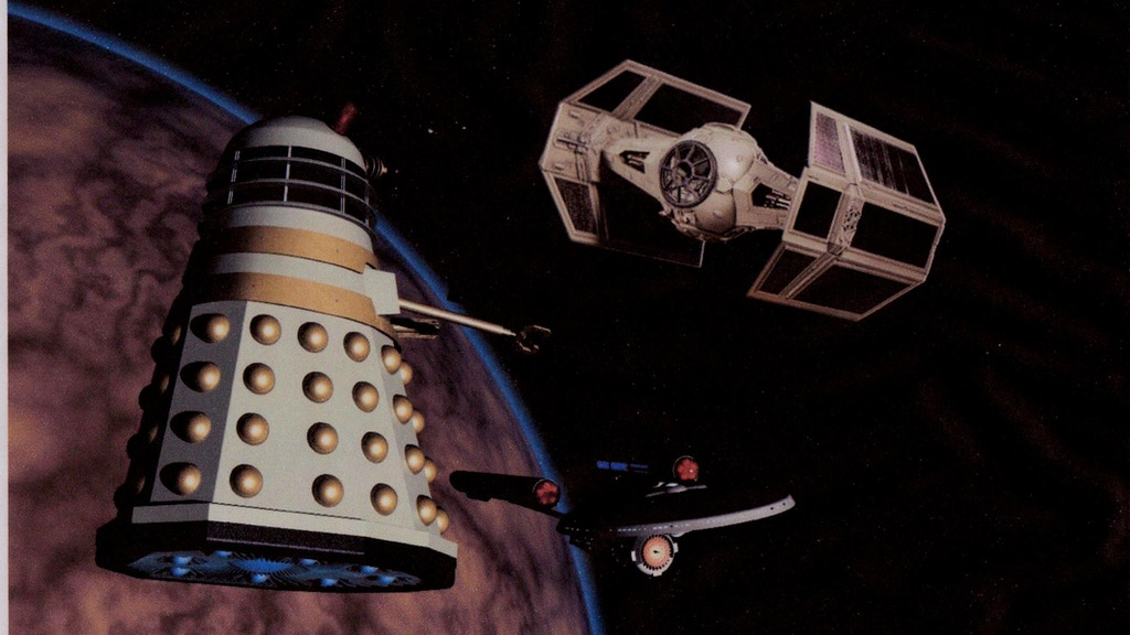 Dalek v Enterprise v Vader (the race to the edge of space) project video thumbnail