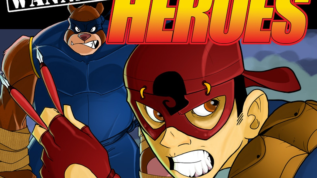 Wannabe Heroes: Issue One project video thumbnail