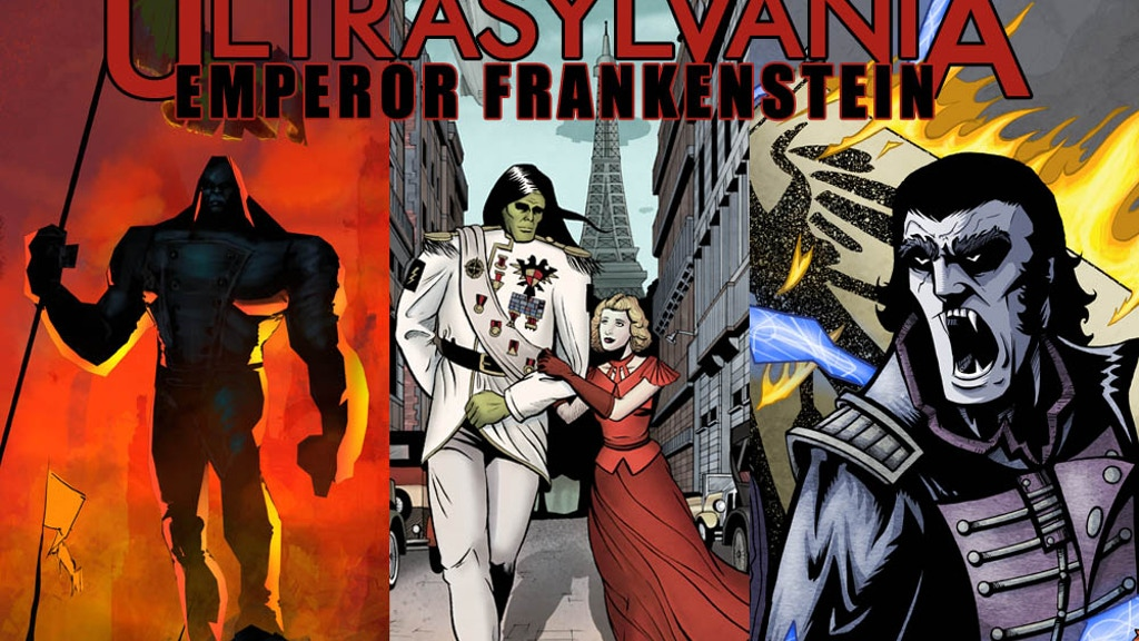 Ultrasylvania, Vol 2: Emperor Frankenstein project video thumbnail