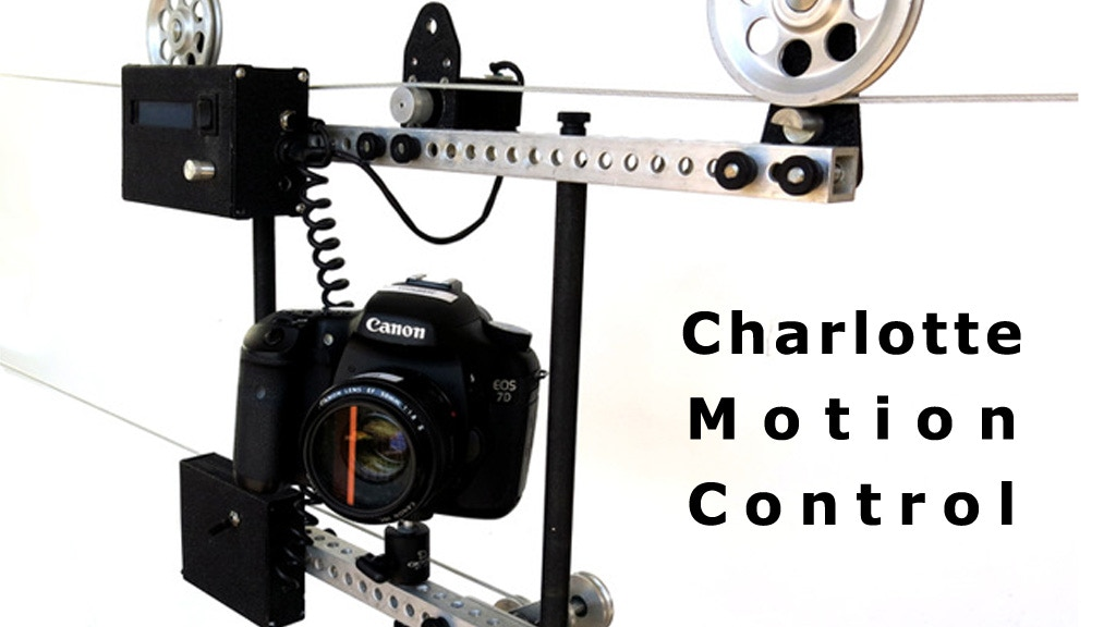 Charlotte: A modular real-time and time-lapse dolly system project video thumbnail