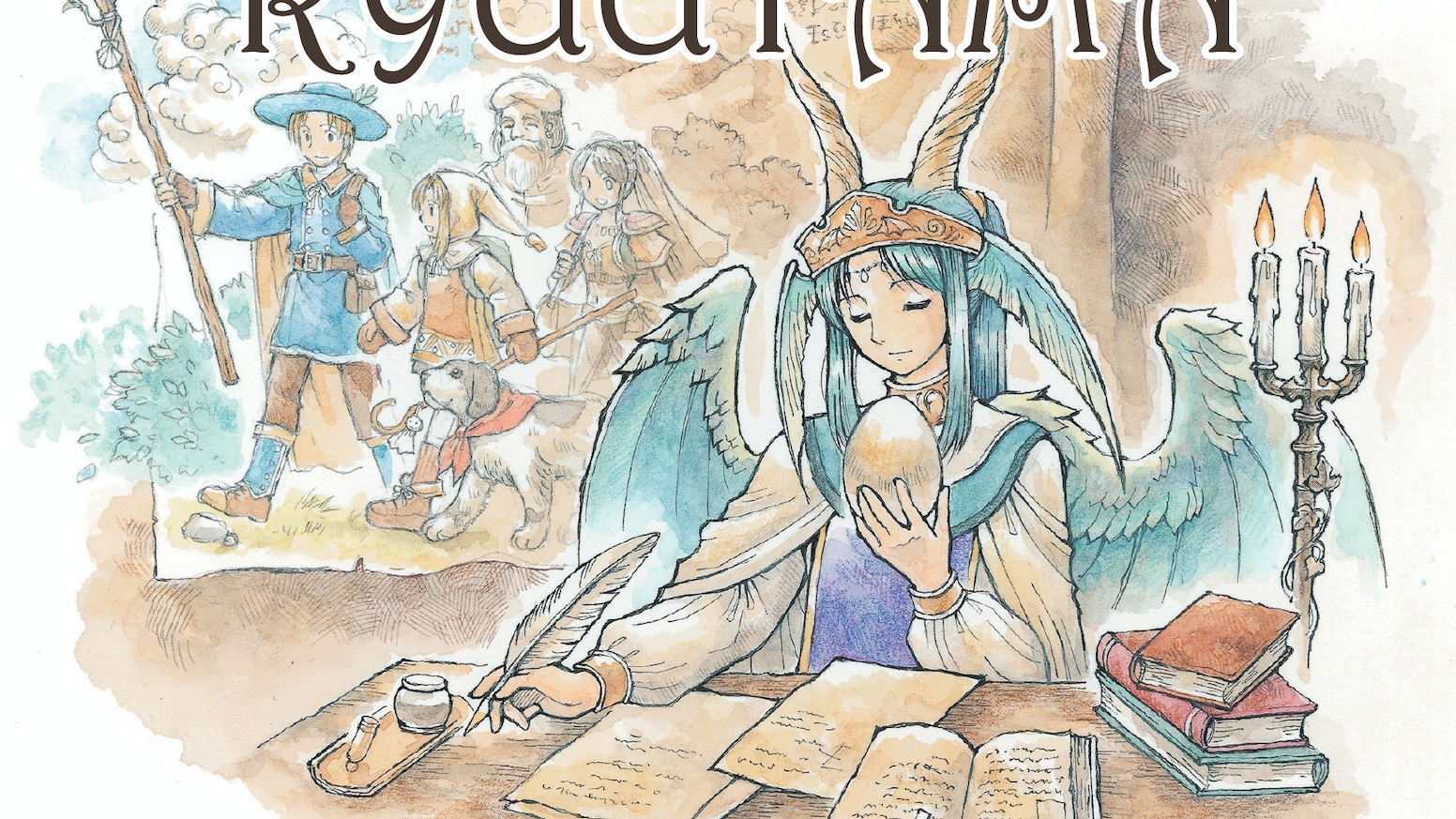 Ryuutama is an original Japanese heartwarming tabletop RPG of travel and wonder, currently being translated for release in English!