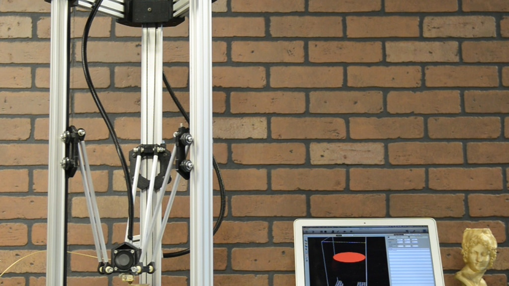 DeltaMaker: An Elegant 3D Printer project video thumbnail