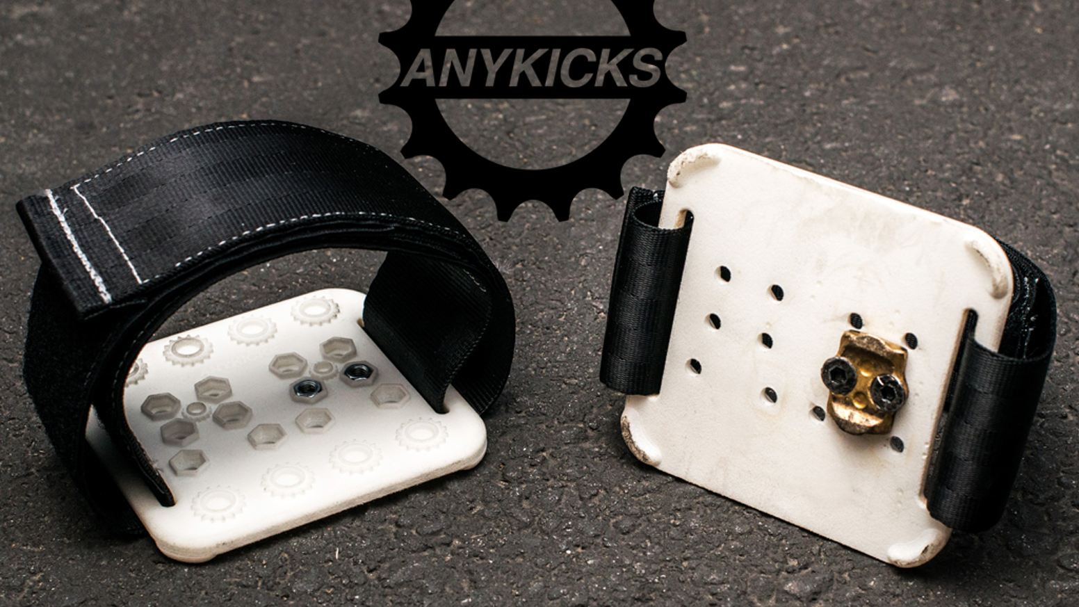 Love riding with clipless pedals? Hate carrying an extra pair of shoes around with you? Still want foot retention? Finally a solution.