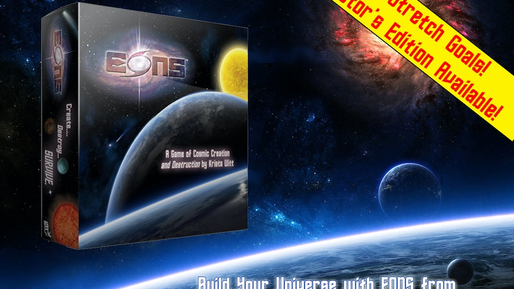 EONS - A Strategic Universe Development game from GN Studios project video thumbnail
