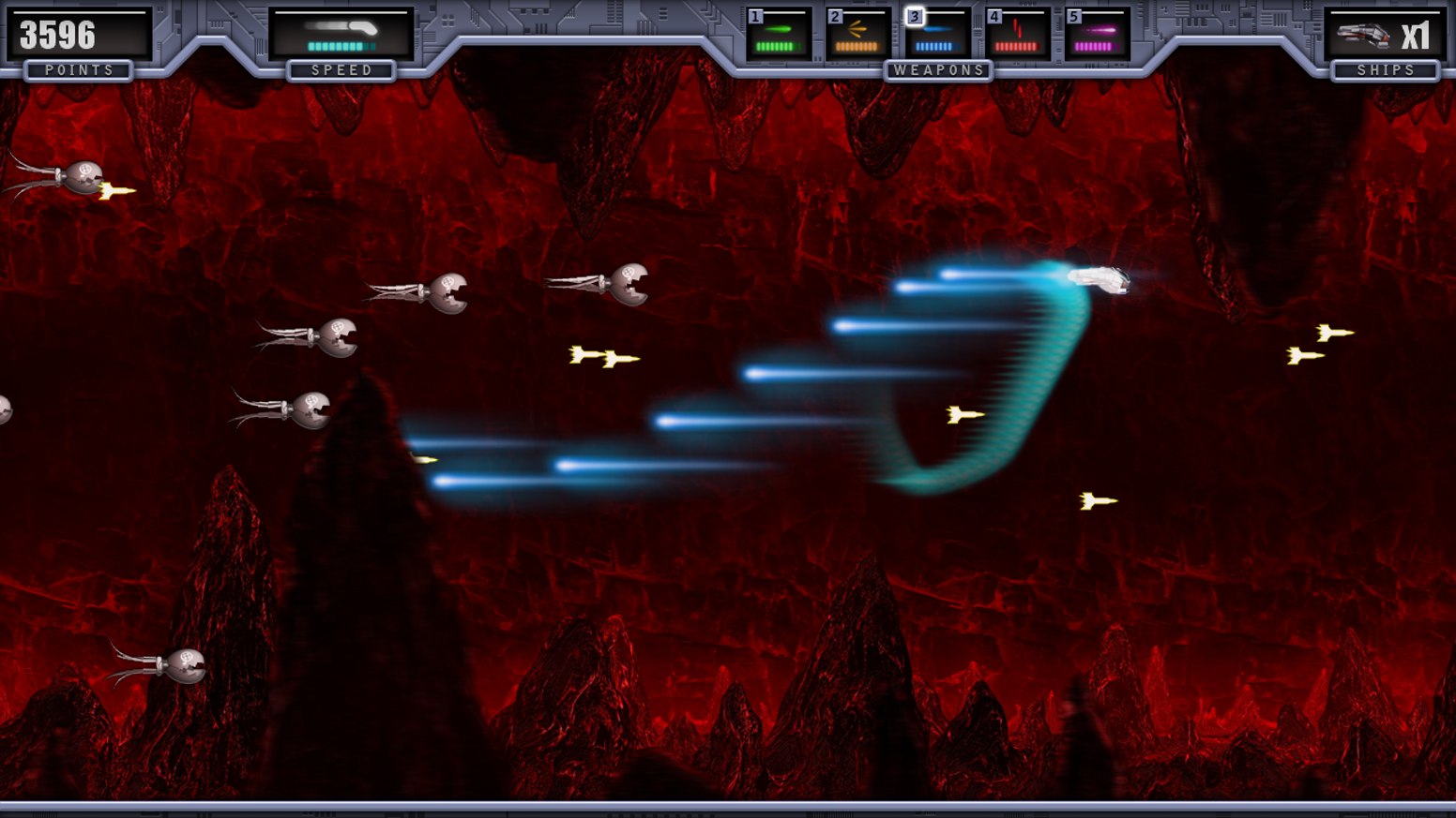 Power Up The Modern Retro Shmup For Pc And Xbox By Psychotic