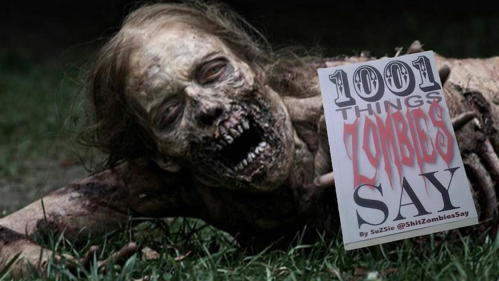 1001 Things Zombies Say project video thumbnail