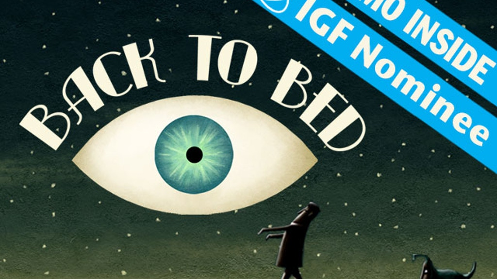 Back to Bed project video thumbnail
