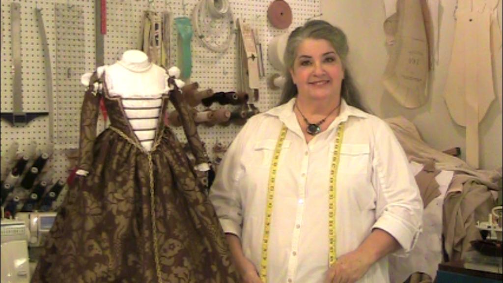 Margo Anderson's Italian Renaissance Lady's Patterns project video thumbnail