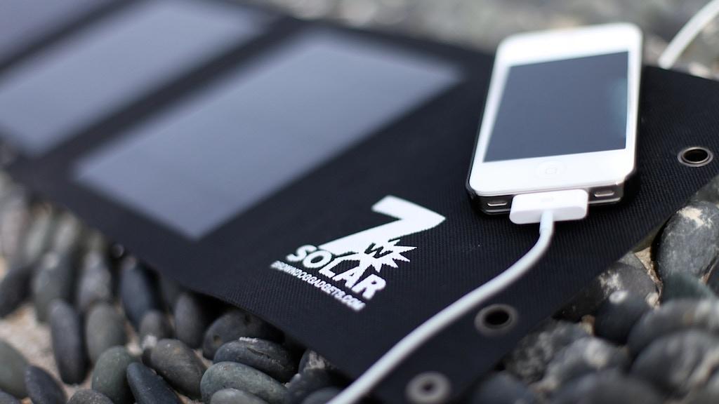 Folding USB Solar Cell project video thumbnail