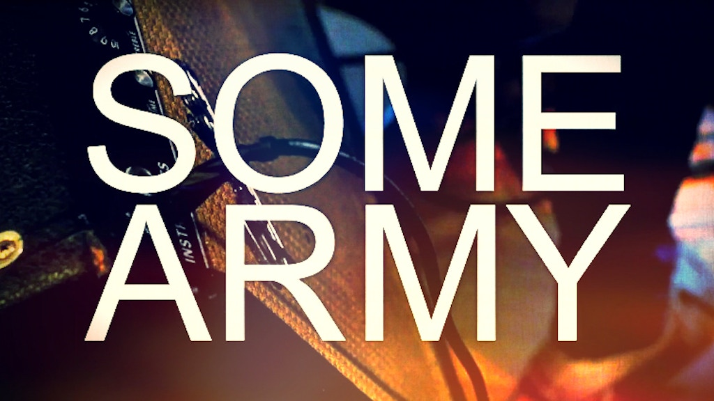 SOME ARMY: Indie-Psych-Pop Debut Full-Length Album project video thumbnail
