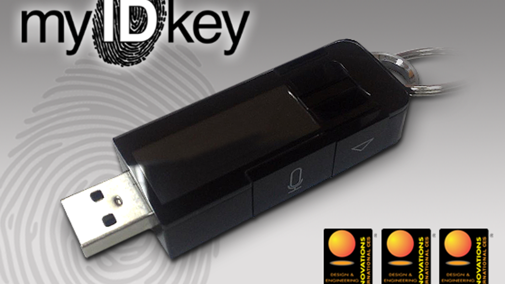 myIDkey: Passwords at the tip of your finger project video thumbnail