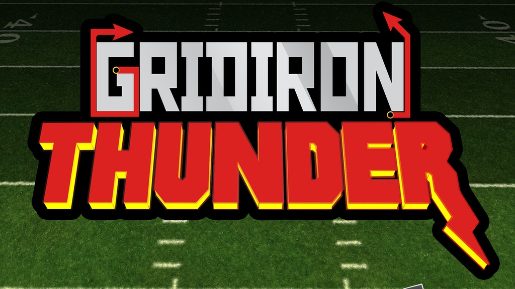 Gridiron Thunder - Awesome Indie Football Game For OUYA project video thumbnail