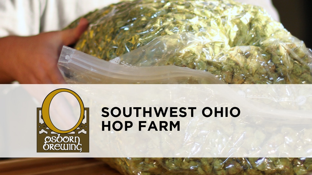 Osborn Brewing: Sustainable Hops for Local Brewers in Ohio project video thumbnail