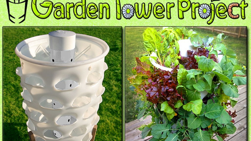GARDEN TOWER: Composting + 50 Plants = Fresh Food Anywhere. project video thumbnail