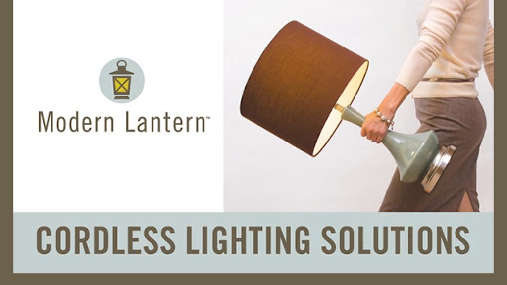 CORDLESS LAMPS BY MODERN LANTERN project video thumbnail