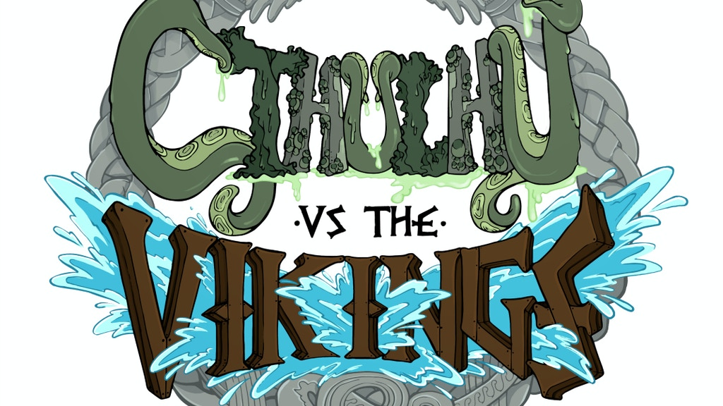 Cthulhu vs. The Vikings - The Game and the Comic! project video thumbnail