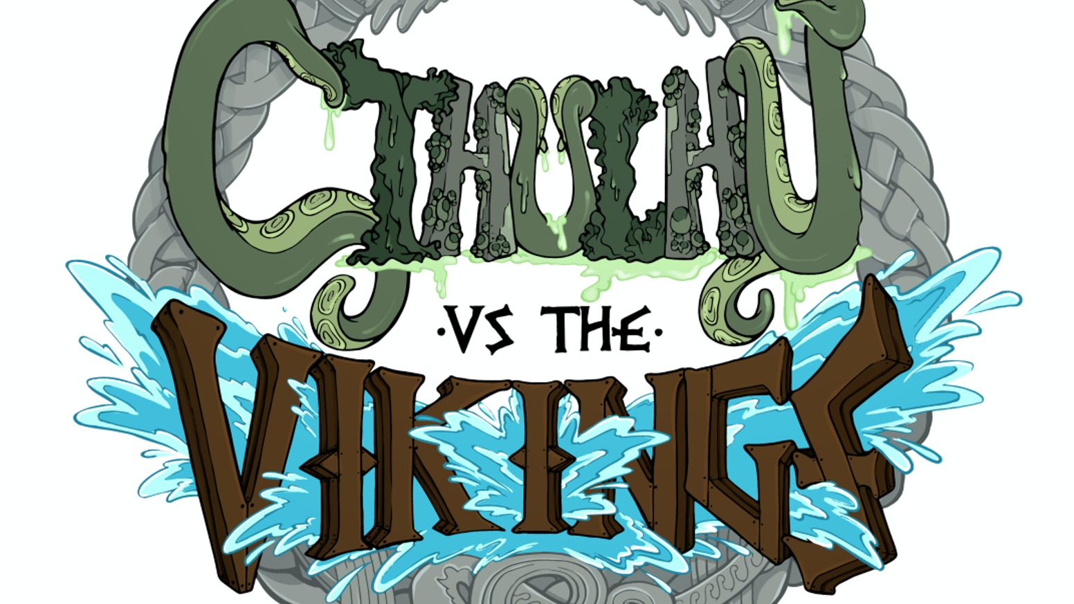 Cthulhu vs. The Vikings?  Hell, yes!  An ancient Viking game updated with an incredible story in comic form!