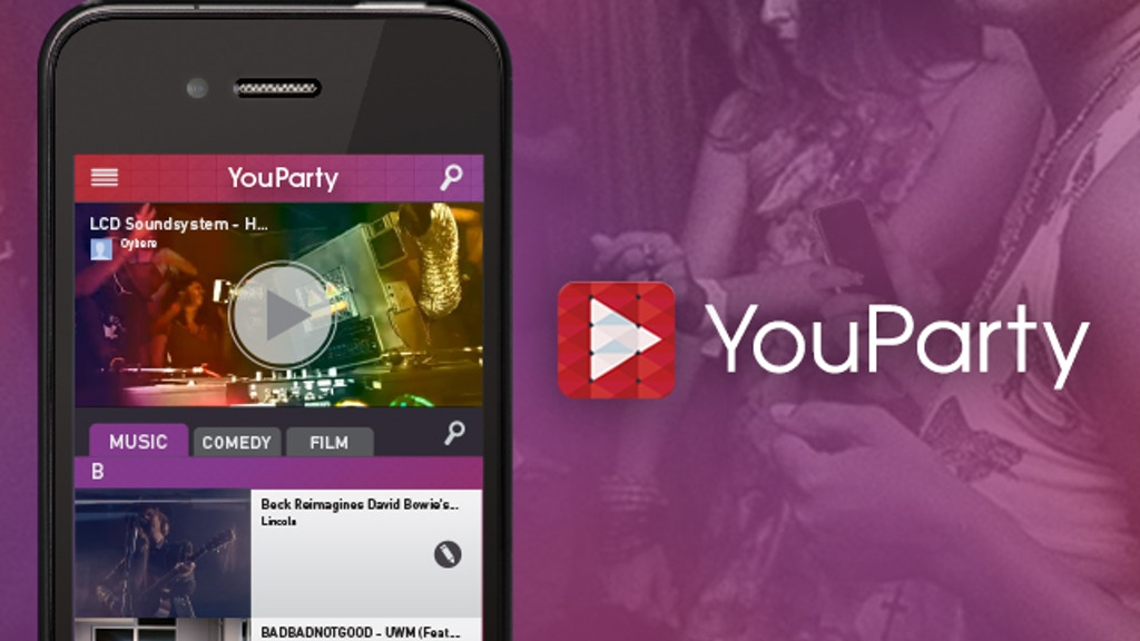 YouParty - The Social YouTube Remote project video thumbnail