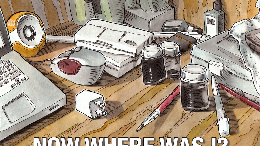 Now Where Was I? A Sketchbook Memoir project video thumbnail