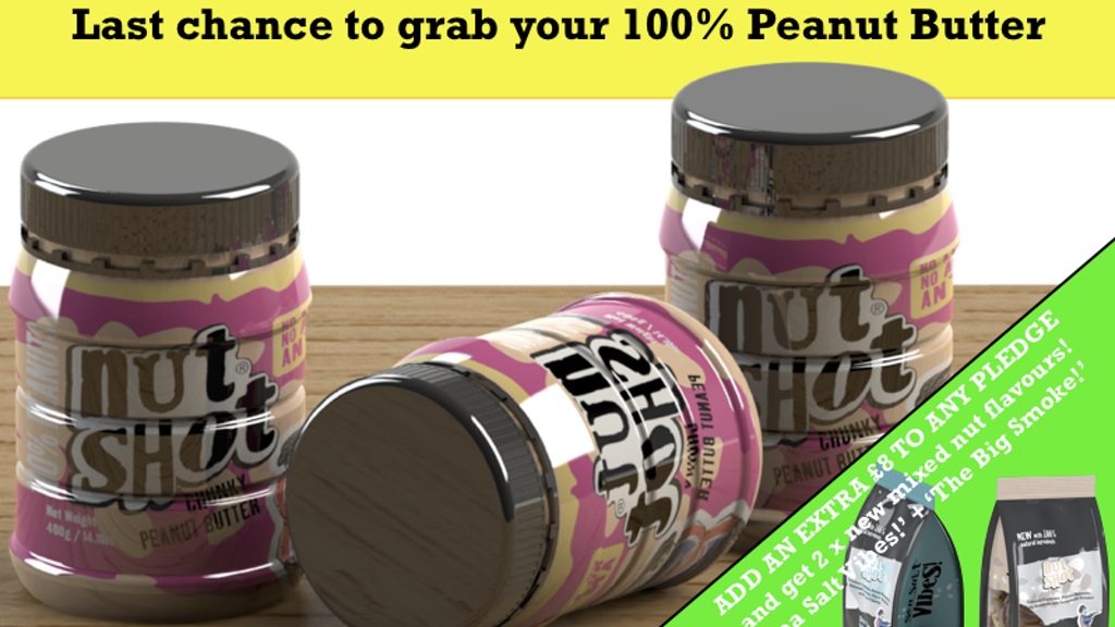 Nutshot Peanut Butter - made from 100% Peanuts! project video thumbnail