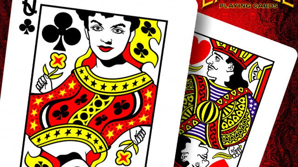 Project image for LABELLE Playing Cards ~ THE MYSTIC ~ Printed by USPCC