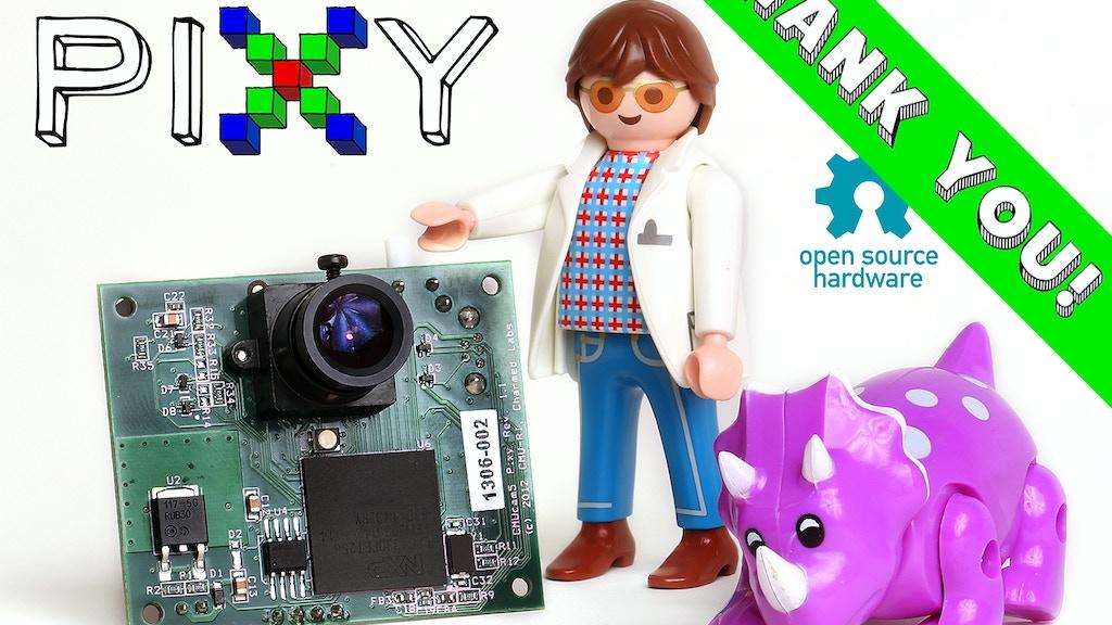 Pixy (CMUcam5): a fast, easy-to-use vision sensor miniatura de video del proyecto