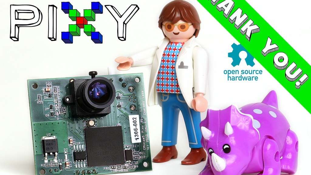 Pixy (CMUcam5): a fast, easy-to-use vision sensor project video thumbnail