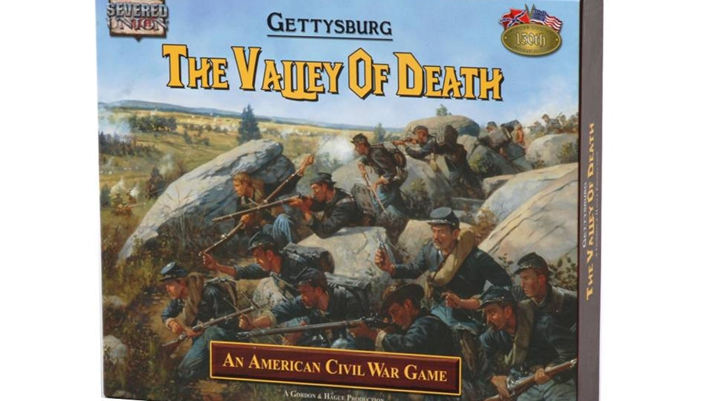 Gettysburg: The Valley of Death Board Game project video thumbnail