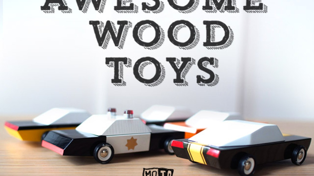 MO-TO: Modern Vintage Toy Cars project video thumbnail