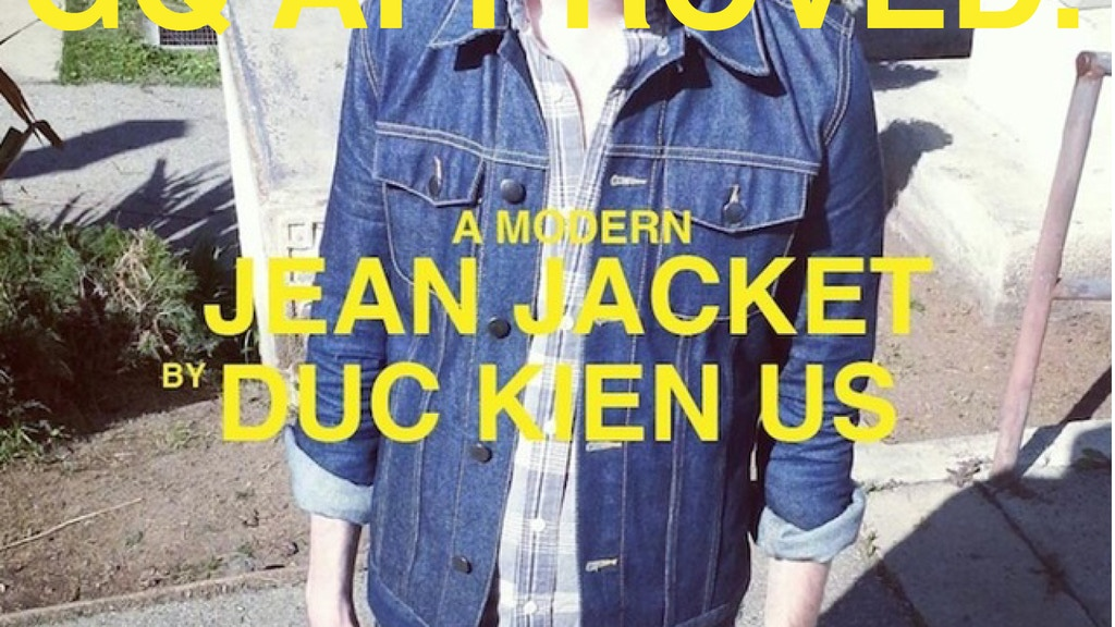 A No Frills, Slim Fit Jean Jacket for Modern Men. project video thumbnail