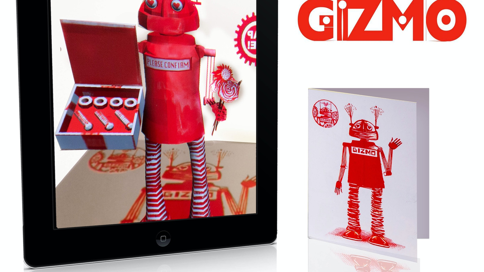 Gizmo augmented reality greeting cards by john littleboy kickstarter gizmo augmented reality greeting cards kristyandbryce Choice Image