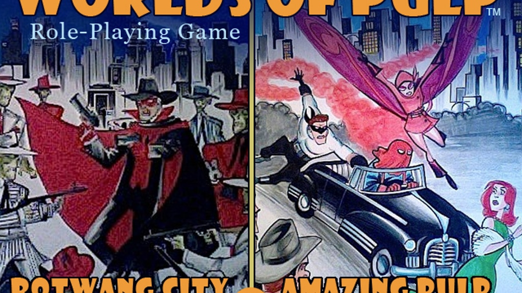 Worlds of Pulp by Scaldcrow Games project video thumbnail