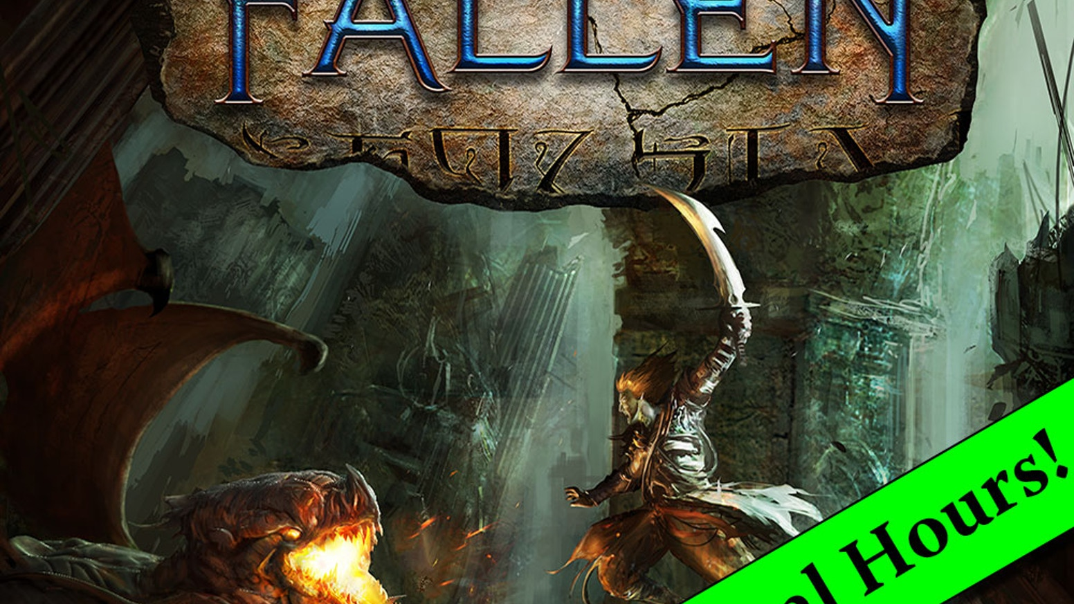 Fallen is a card and dice game that takes dungeon adventuring to a whole new level.