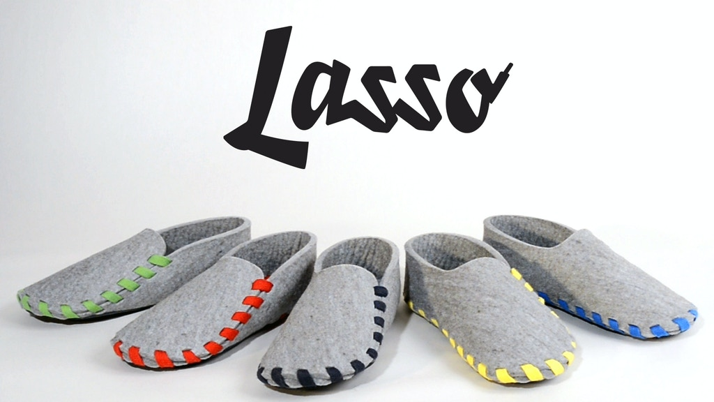 Lasso: your very own must-have slippers for ultimate comfort project video thumbnail