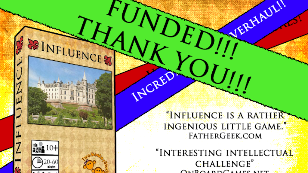 Influence project video thumbnail