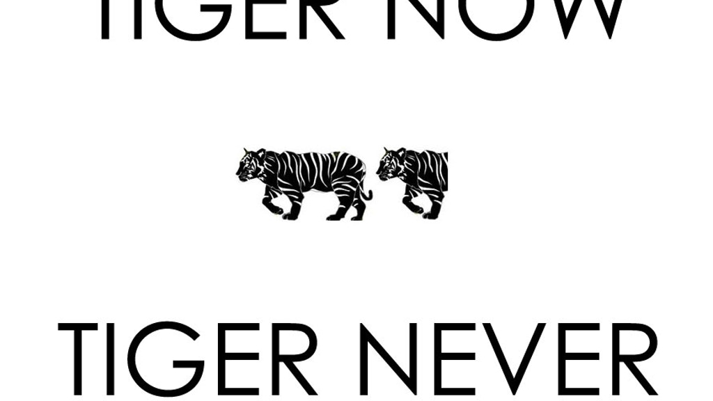 TIGER NOW or TIGER NEVER project video thumbnail