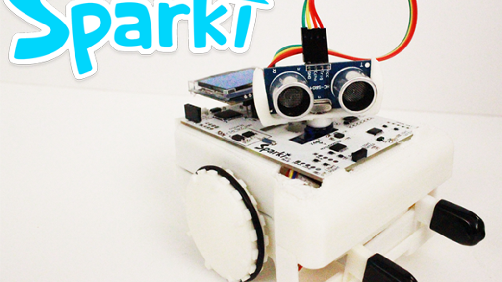 Sparki - The Easy Robot for Everyone! project video thumbnail