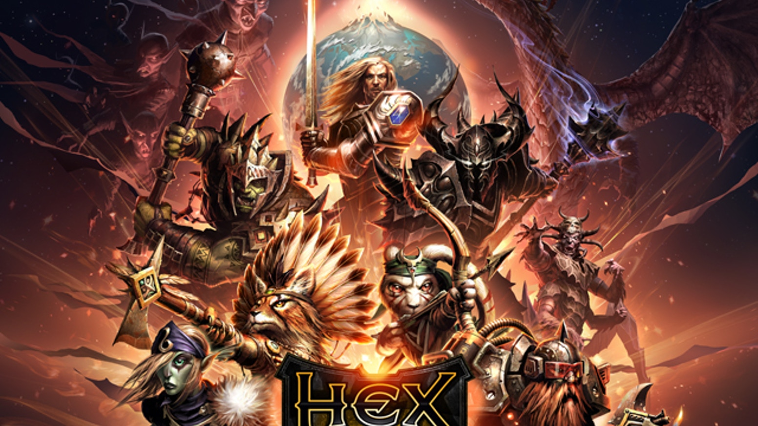 For project updates or questions, please head over to hextcg.com       From the creators of the World of Warcraft Trading Card Game, HEX is a TCG / MMO that combines the best of both for your PC & MAC