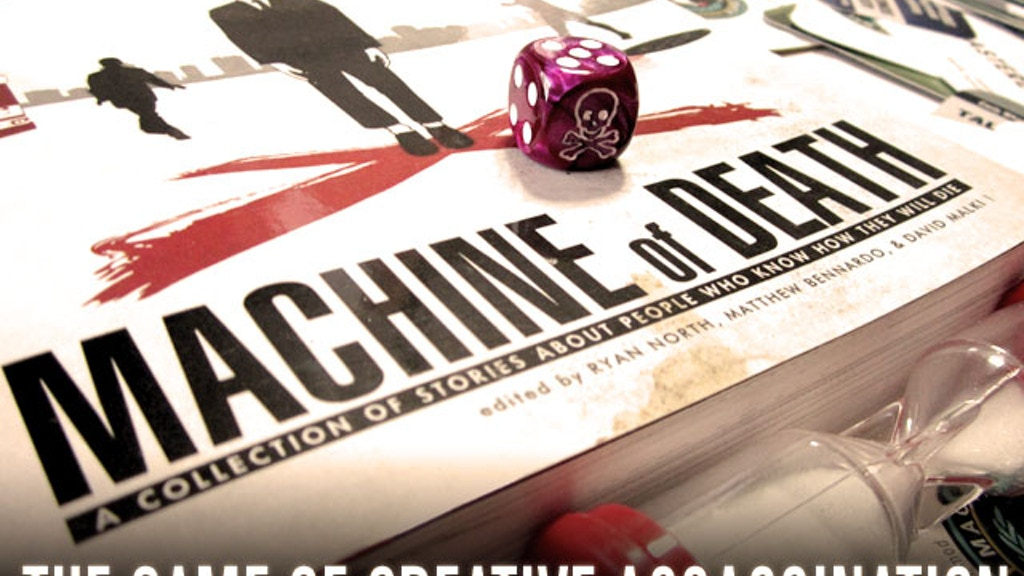 Machine of Death: The Game of Creative Assassination project video thumbnail
