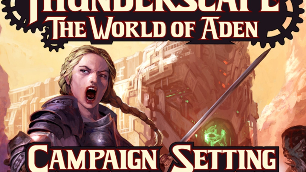 Thunderscape: The World of Aden project video thumbnail