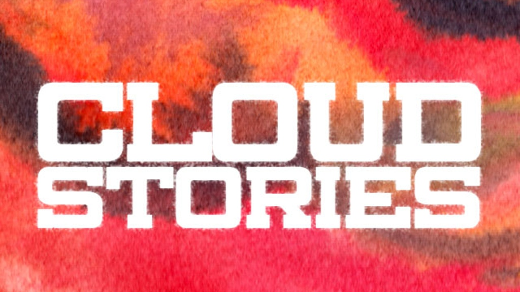 Cloud Stories, a new book by K. Thor Jensen project video thumbnail